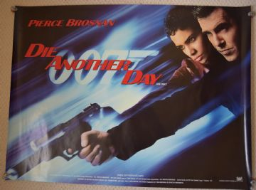 Die Another Day Film Poster UK Quad